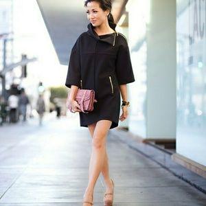 Zara zipper detail dress